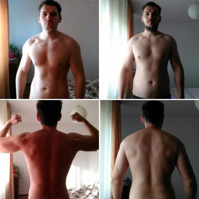 Dirty bulk experiment and update on my current physique